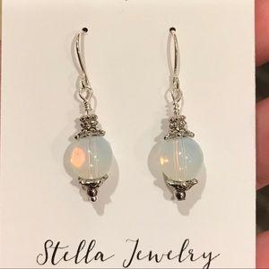 Jewelry - Moonstone Drop Earrings